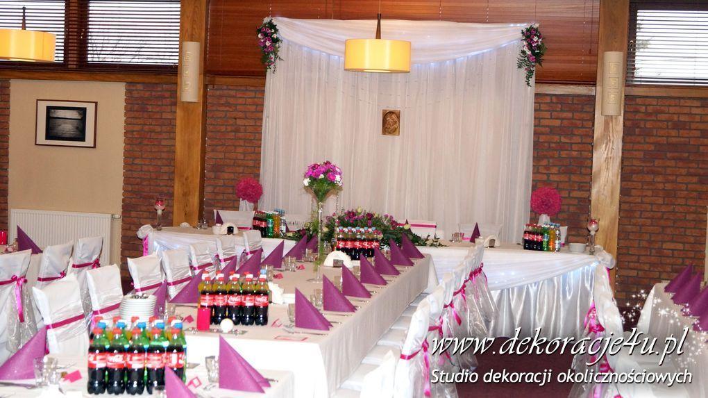 ścianka Za Parą Młodą Dekoracje4upl Dekoracje ślubne Kościoła I