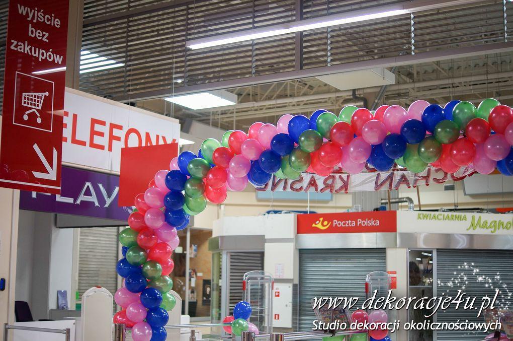 8 urodziny Uachan w Krasnym - Dekoracja balonowa