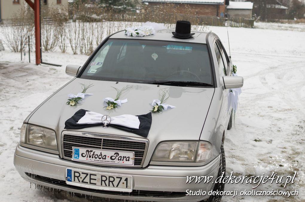 Dekoracja samochodu Medynia Glogowska