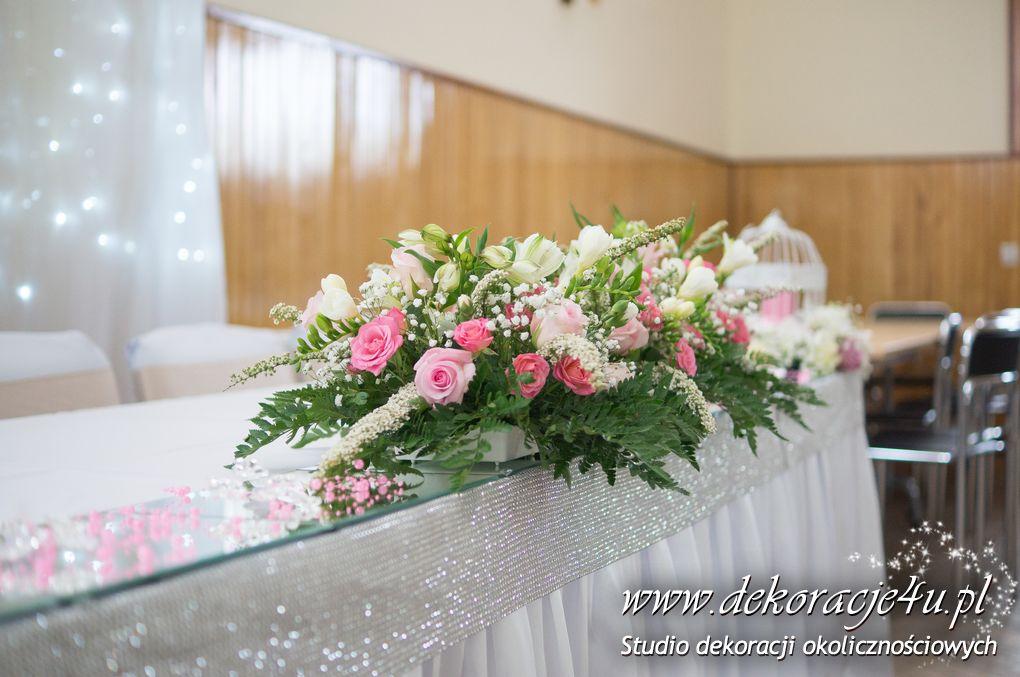 Dekoracja sali weselnej w Wara kolo Dynowa