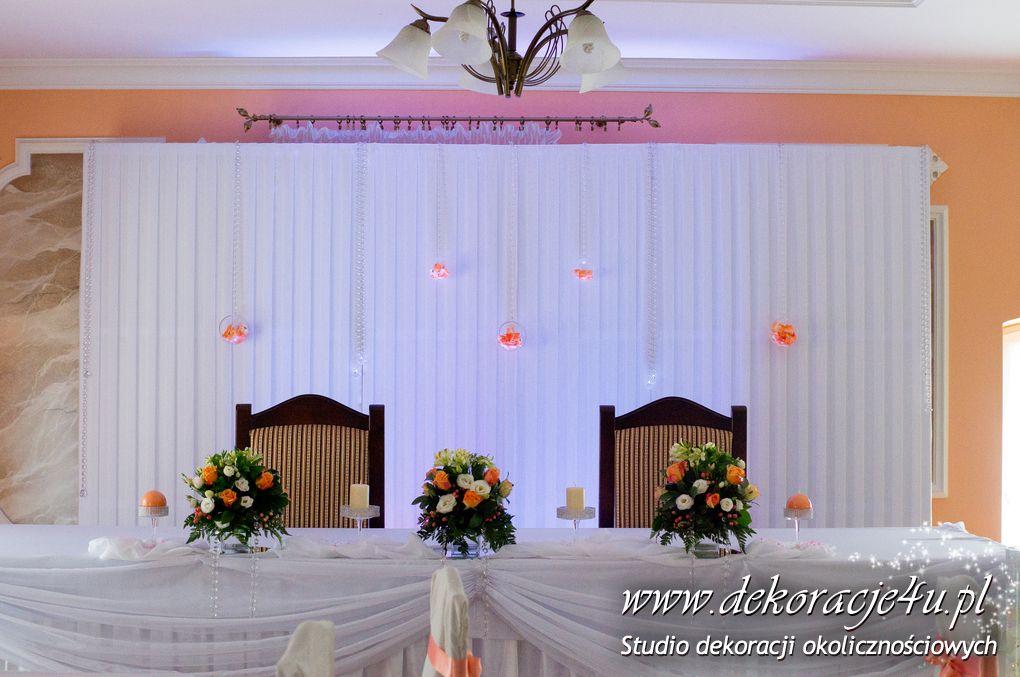 Dekoracja sali weselnej Stary Mlyn w Albigowej