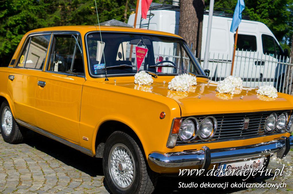 Dekoracja samochody Kraczkowa