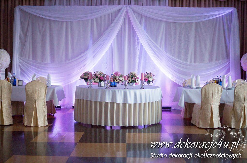 Dekoracja sali weselnej HOTEL LANCUT / Sezam