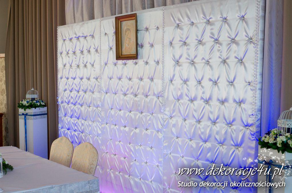 Dekoracja sali Nowy Hotel Lancut