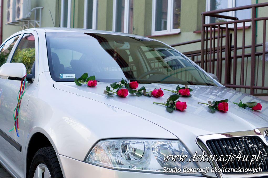 Dekoracja samochodu Frysztak