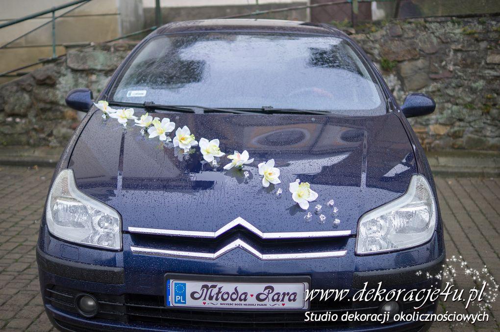 Dekoracja samochodu slubnego w Przemyslu