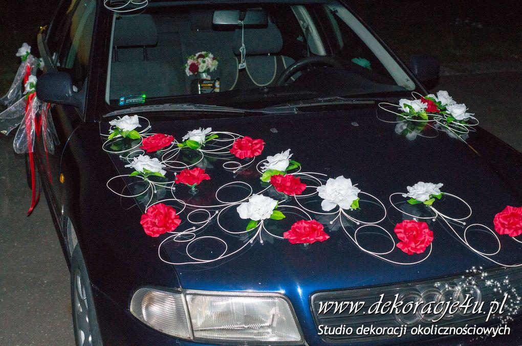 Dekoracja samochodu w Korniaktowie
