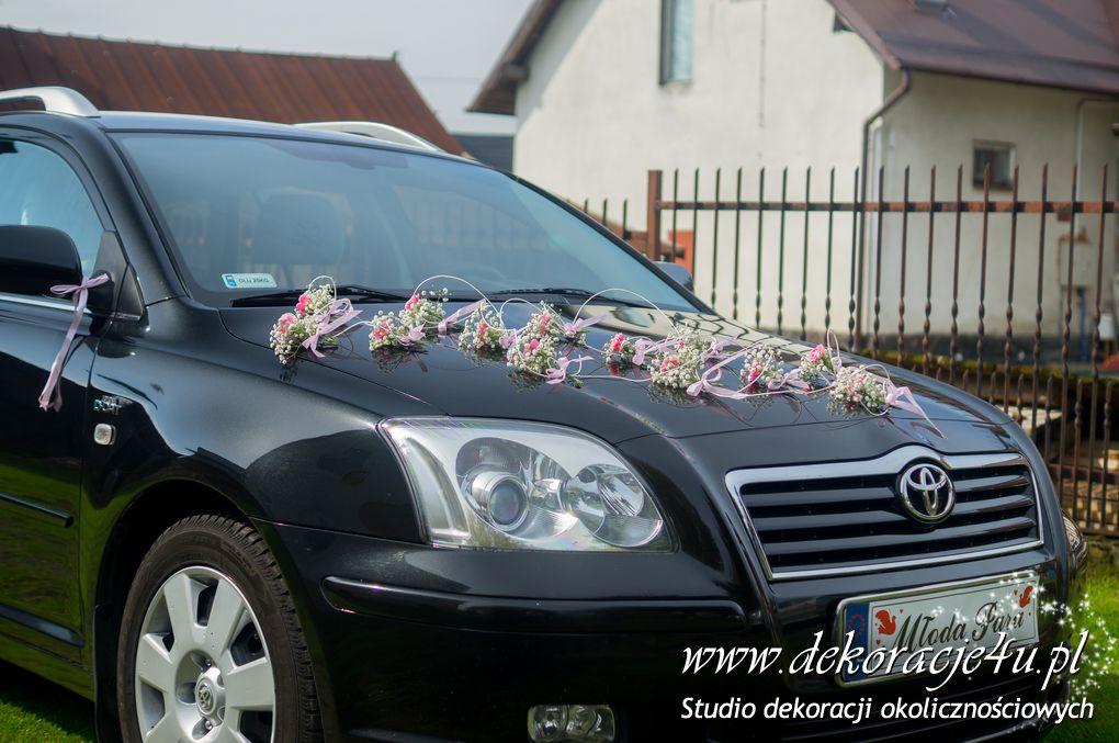 Dekoracja samochodu Krasne